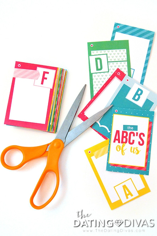 ABC's of Us Gift for Spouses
