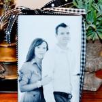 Couple's Photo Block