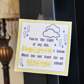 Last Minute Light Show - Lightening Date Idea.