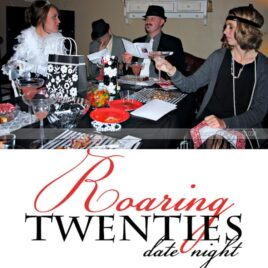The Roaring 20's group date idea.