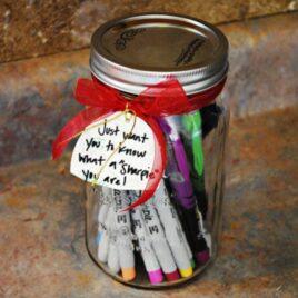 Can O' Sharpies - Teacher gift idea.
