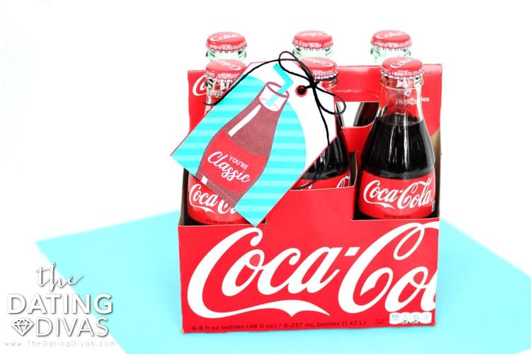 Classic Coke Gift Tag