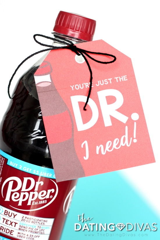 Dr. Pepper Gift Tag