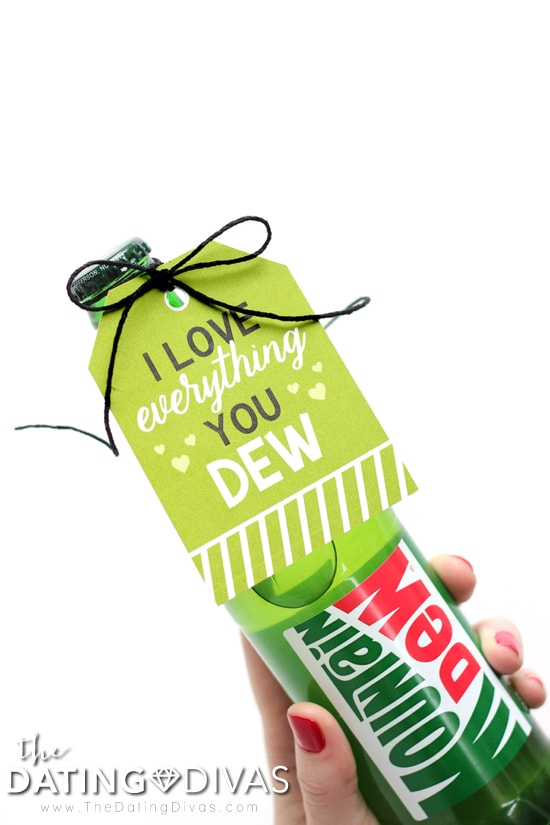 Mountain Dew Gift Tag