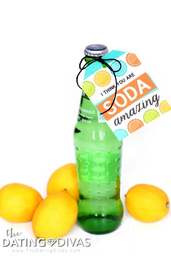 Soda Amazing Gift Tag