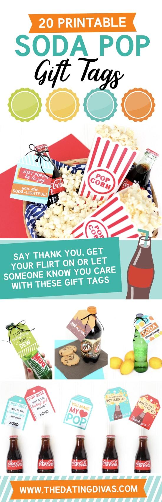 Soda Pop Gift Tags