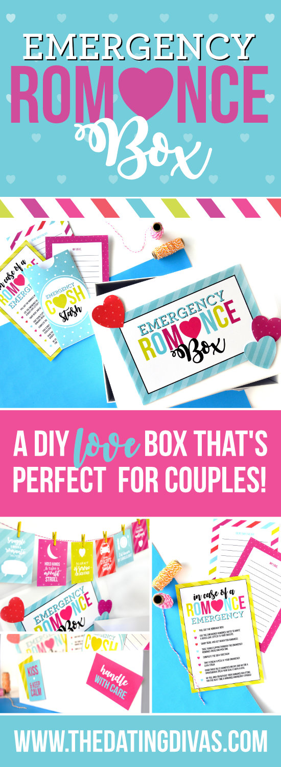 Romance Kit for Couples #diydatebox #marriageideas #romancebox