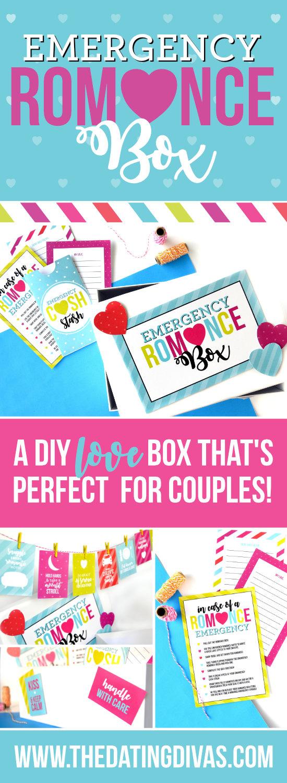 Romance Kit for Couples #diydatebox #marriageideas #romancebox