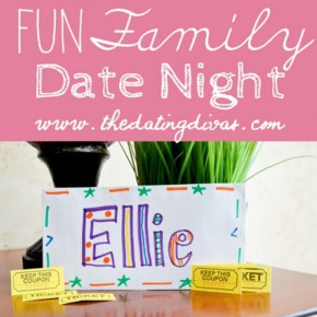 Family fun date night idea.