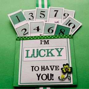 I'm Lucky to have you - St. Patrick's Day idea.