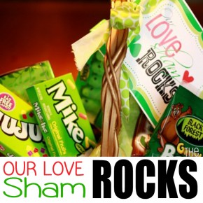 Our Love Shamrocks - a St. Patrick's Day idea.