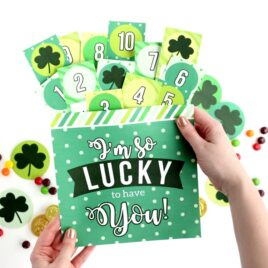 St. Patrick's Day Surprise Lucky to Have You
