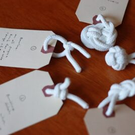 Tie the Knot: An Anniversary Idea