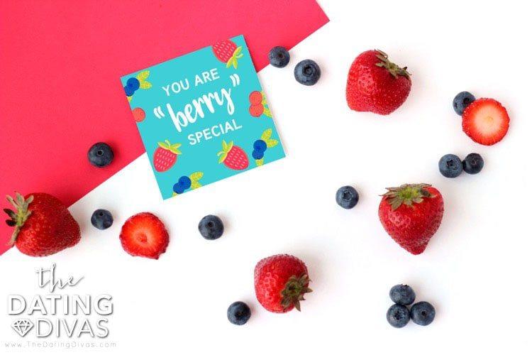 Breakfast in a Bag Berry Love Note