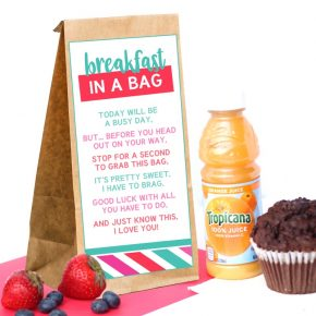 Breakfast In A Bag Poem
