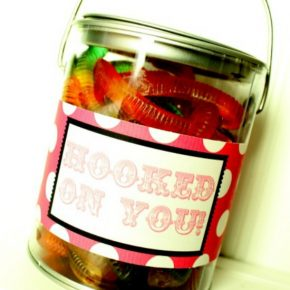 Valentine's Day gift - Hooked on You