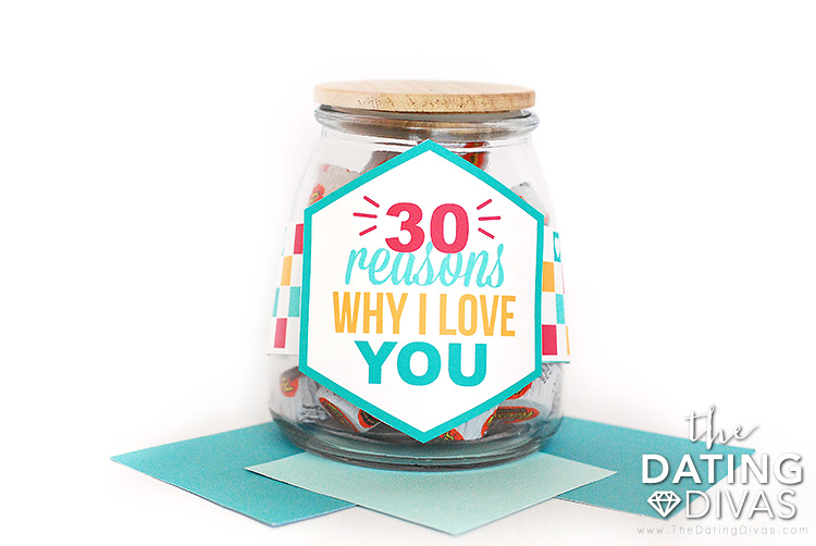 50 Reasons Why I Love You Jar Gift Ideas The Dating Divas