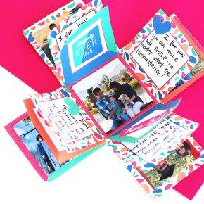 DIY Explosion Box Gift Idea