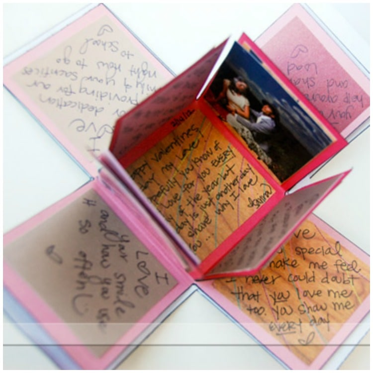 exploding love box gift   an easy diy craft tutorial