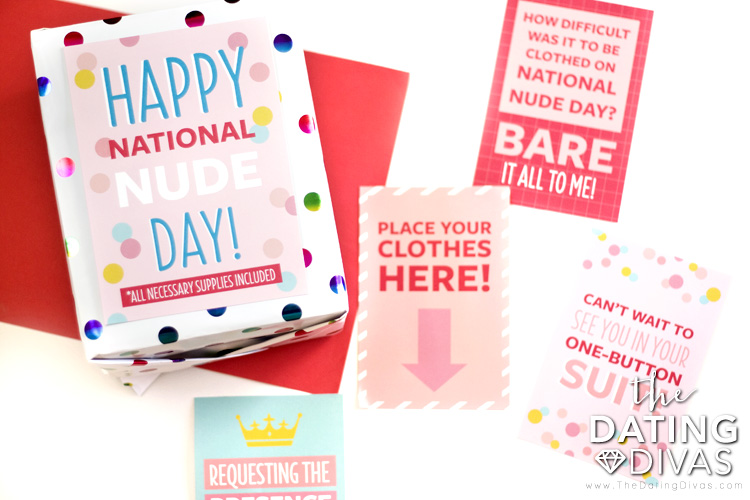 Nude Day Printables