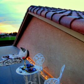 Romantic Rooftop Date