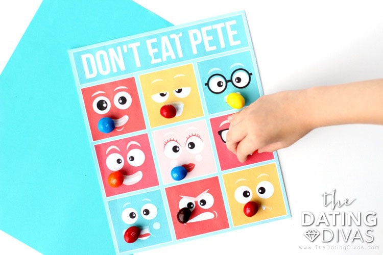 Kid Date Night Envelope Don't Eat Pete