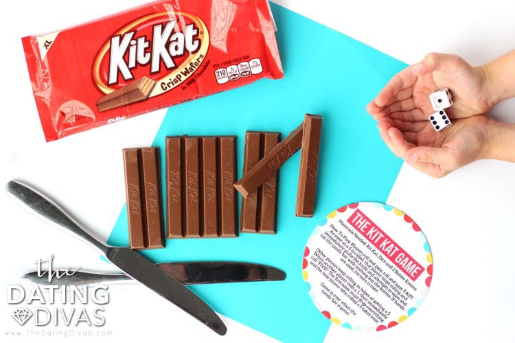 Kid Date Night Envelope Kit Kat Game