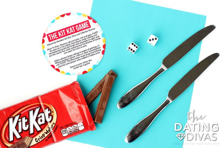 Kid Date Night Envelope Kit Kat Instructions