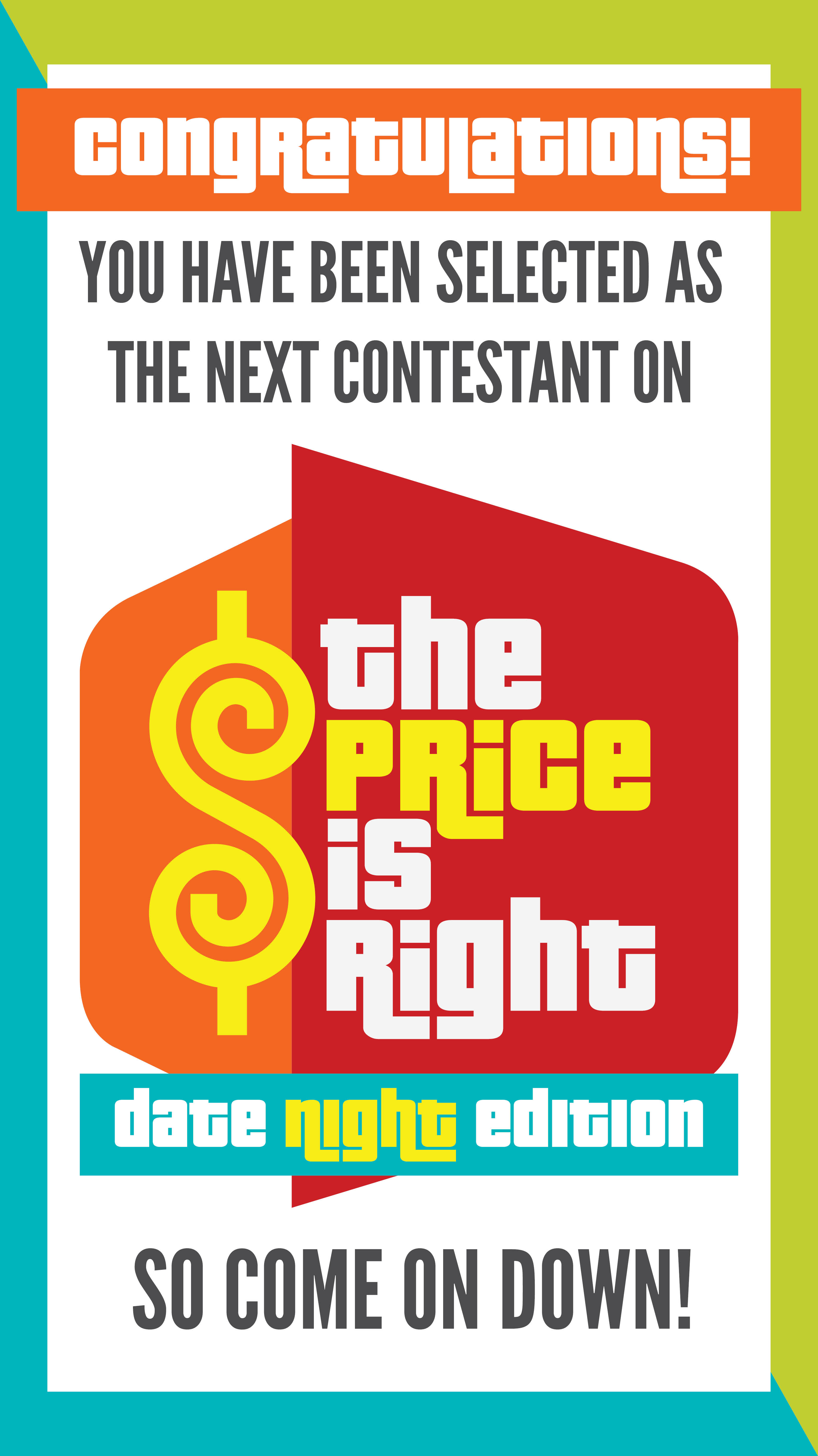 """Price is Right"" Group Date Night - From The Dating Divas"