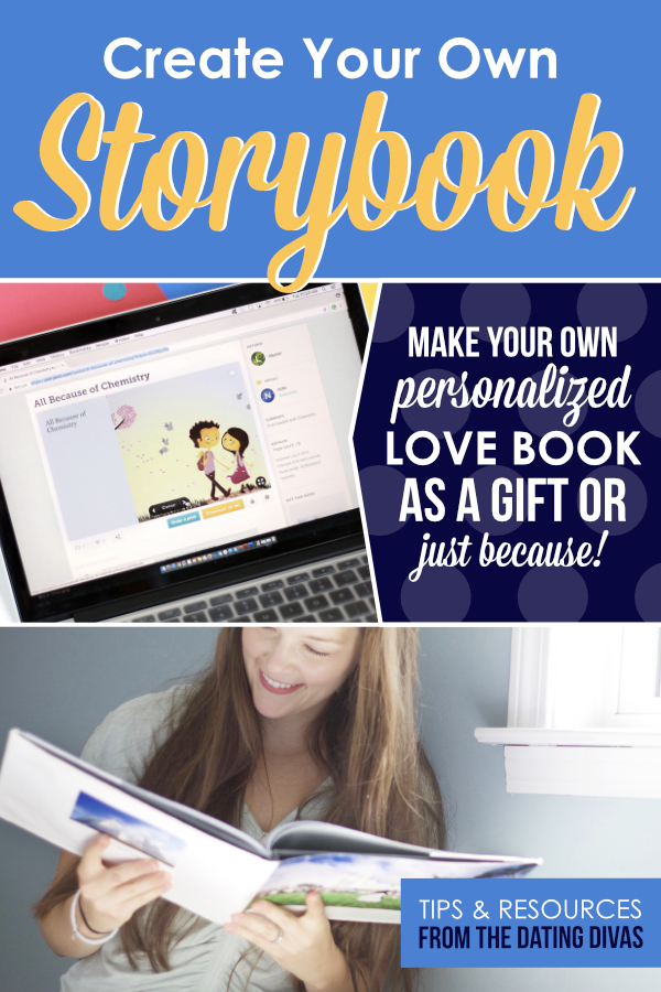 Making my own love story book will be a perfect gift idea and a great way to preserve my favorite memories! #lovestorybook #personalizedlovebook
