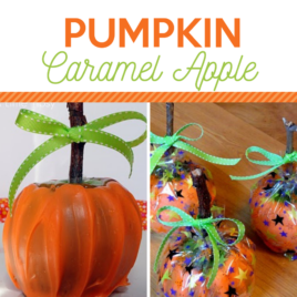 Pumpkin Caramel Apple Square