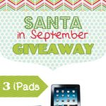 """Santa In September"" Giveaway"