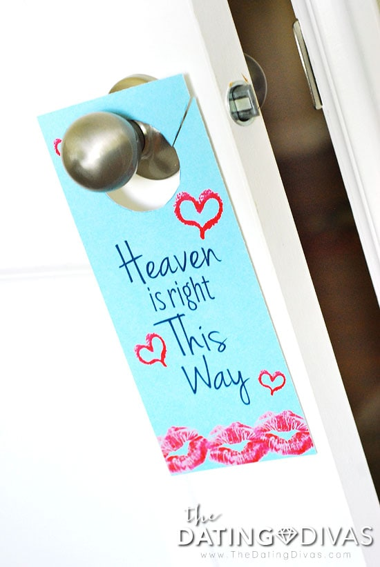 Privacy Door Hanger: 2 Minutes In Heaven I