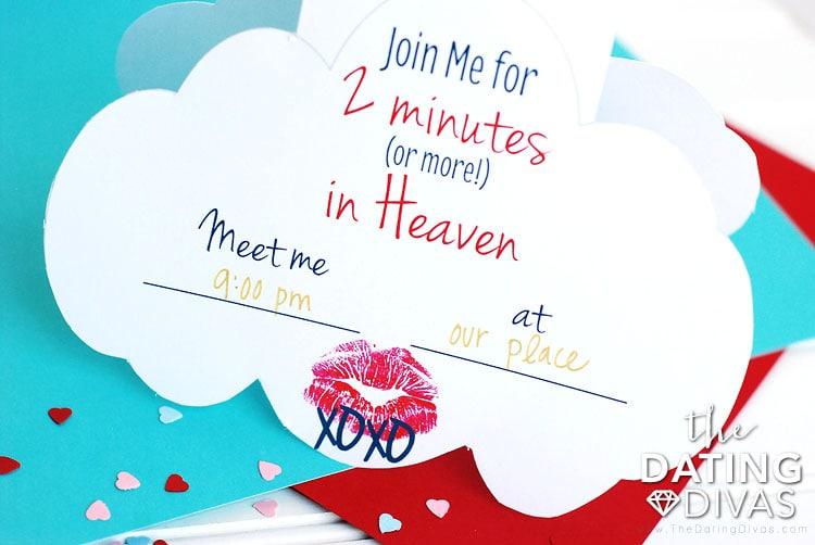 2 Minutes in Heaven Invitation