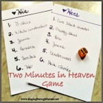 2 Minutes in Heaven Intimacy Game