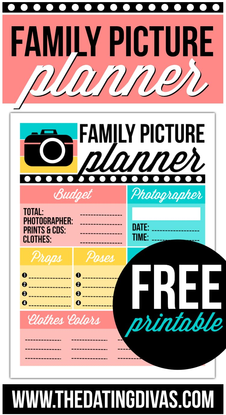 Family Picture Planner