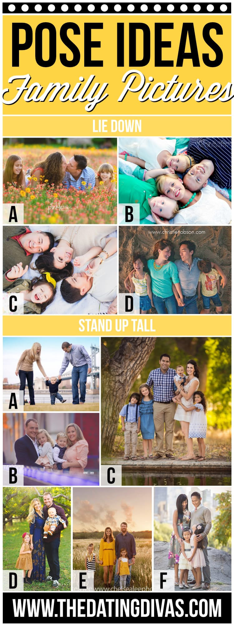 Family Picture Pose Ideas