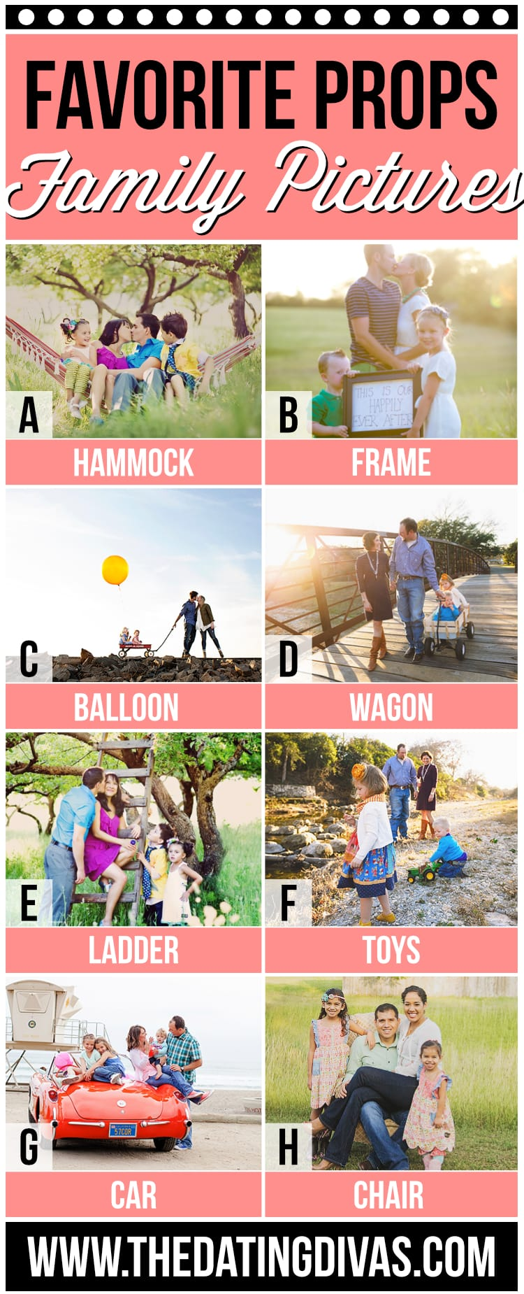 Family Photo Ideas for Props
