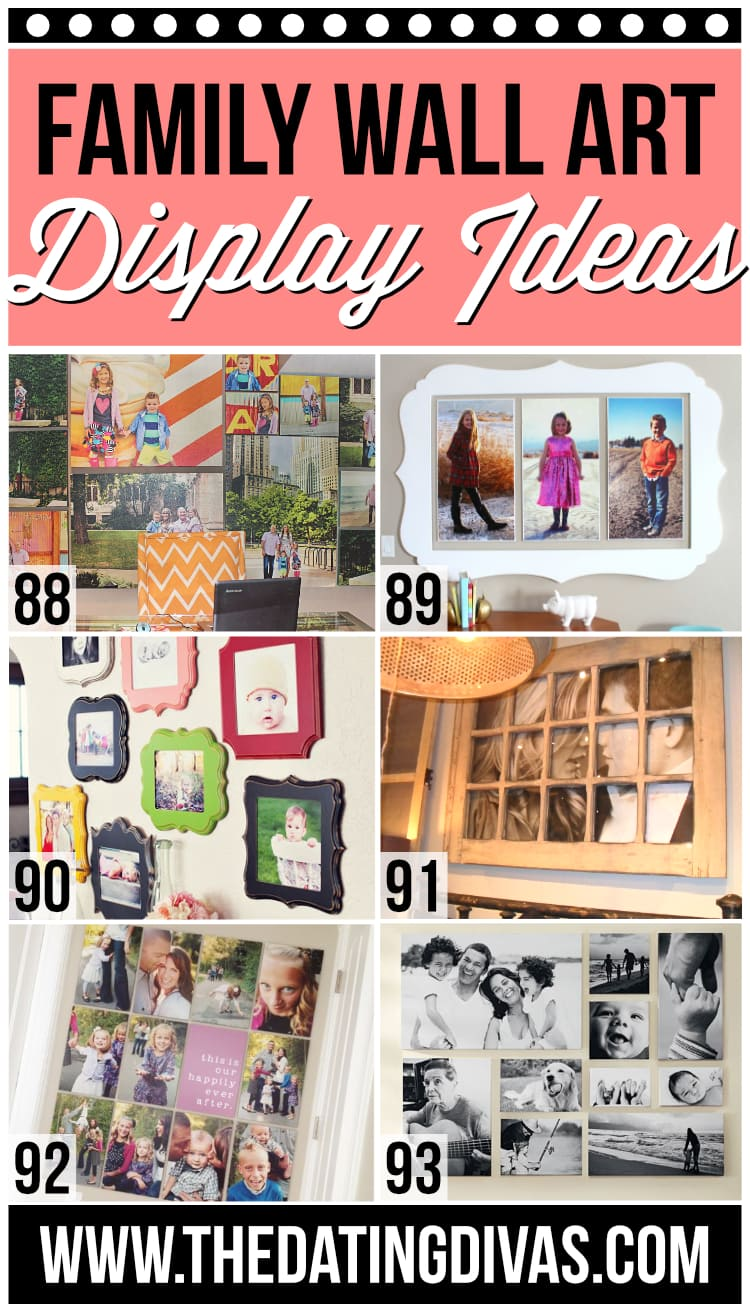 Gallery Wall Display Ideas