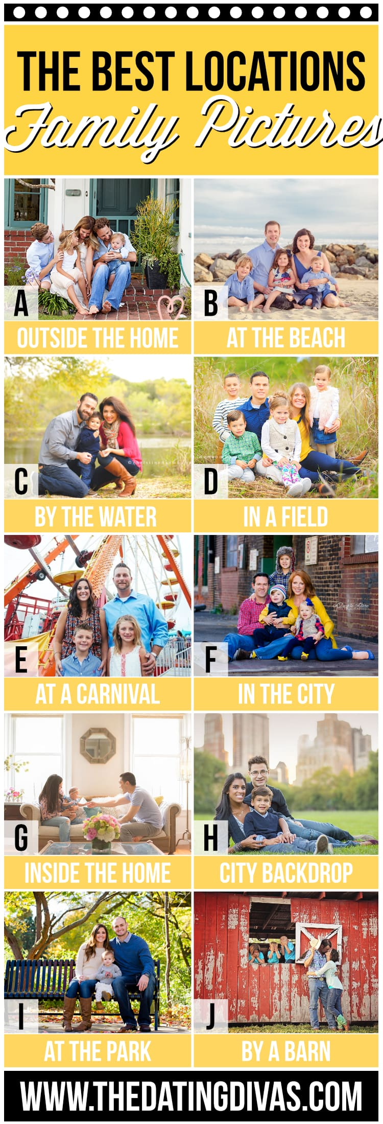 Family Photo Ideas for Location