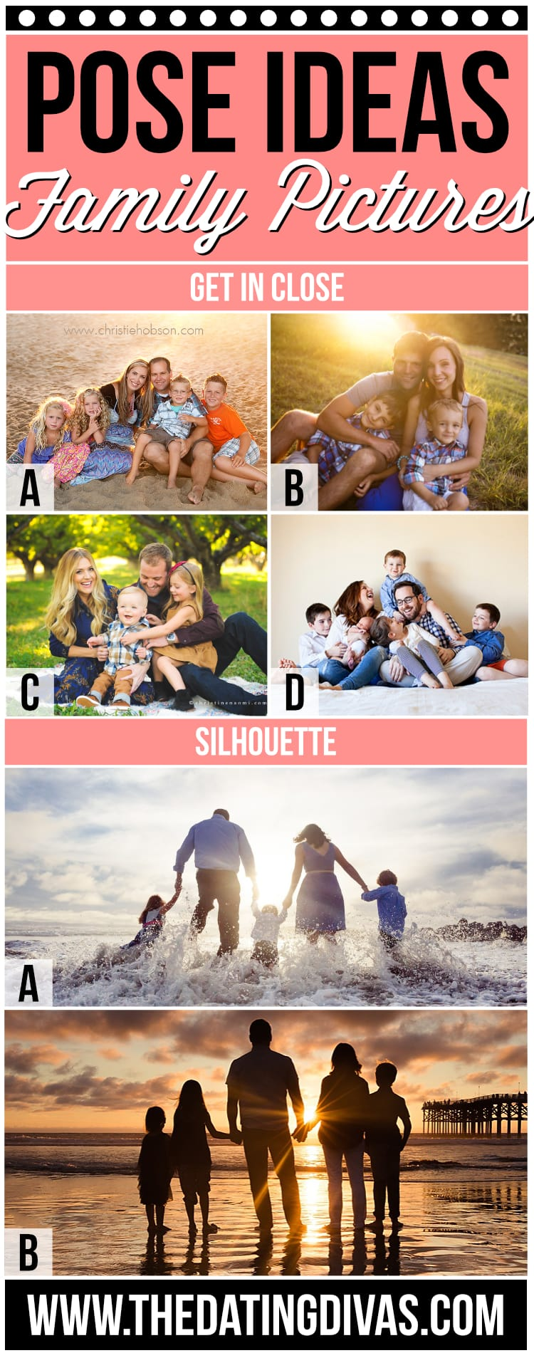 Picture Pose Ideas for Families