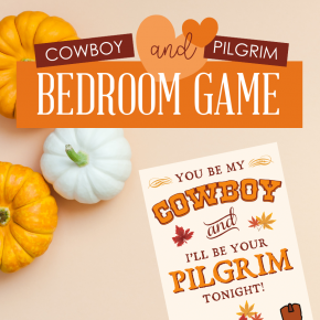 Cowboy and Pilgrim Bedroom Game Square