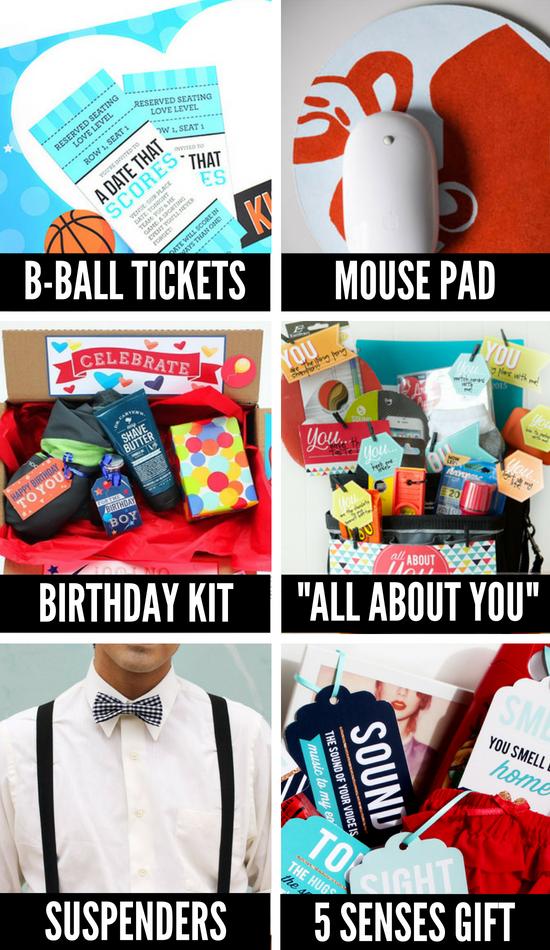 DIY Birthday Gifts for Men