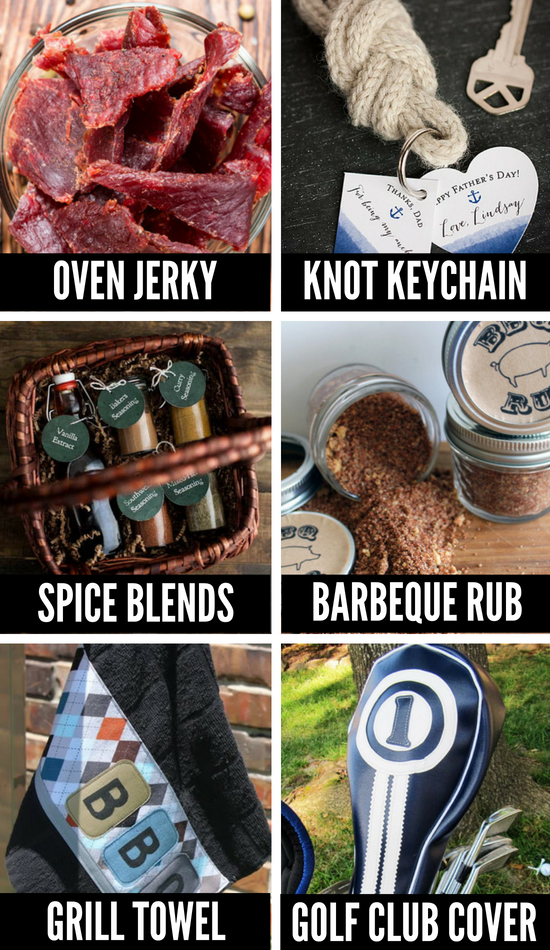 DIY Gifts for Men and Dads