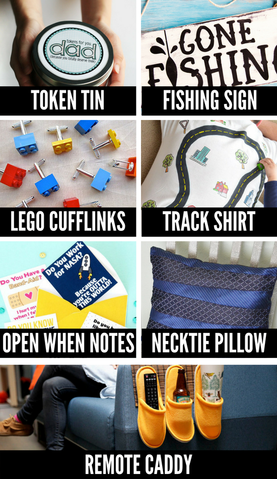 DIY Gifts for Men for Father's Day