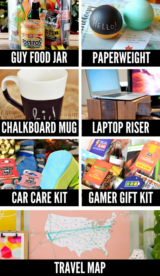 More Christmas DIY Gifts for Men