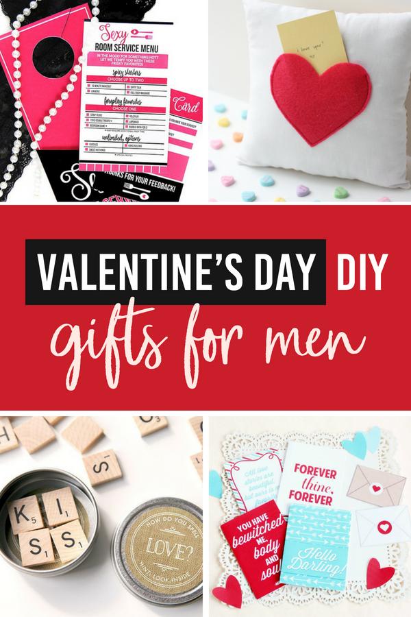 Valentine's Day DIY Gifts for Men