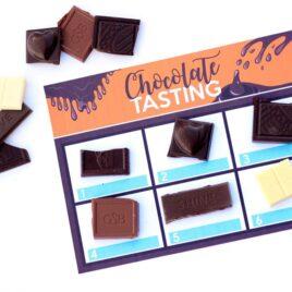 Chocolate Tasting Date Mat
