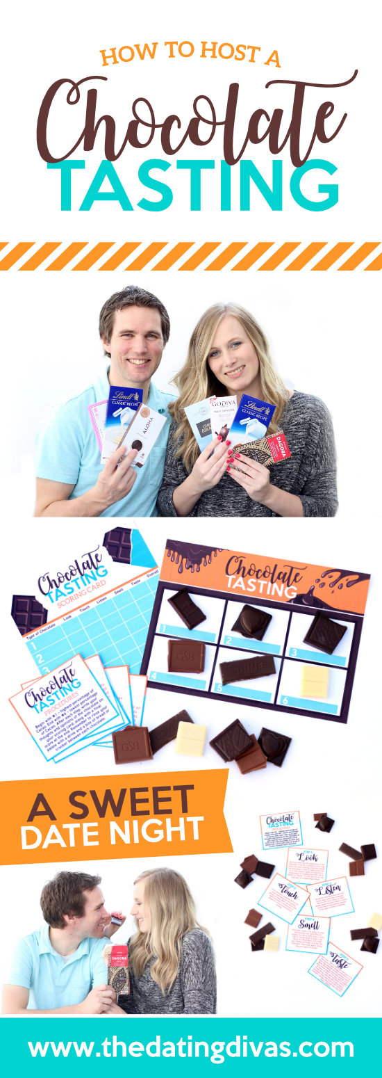 Chocolate Tasting Date Night #chocolatedatenight #couplesdateidea
