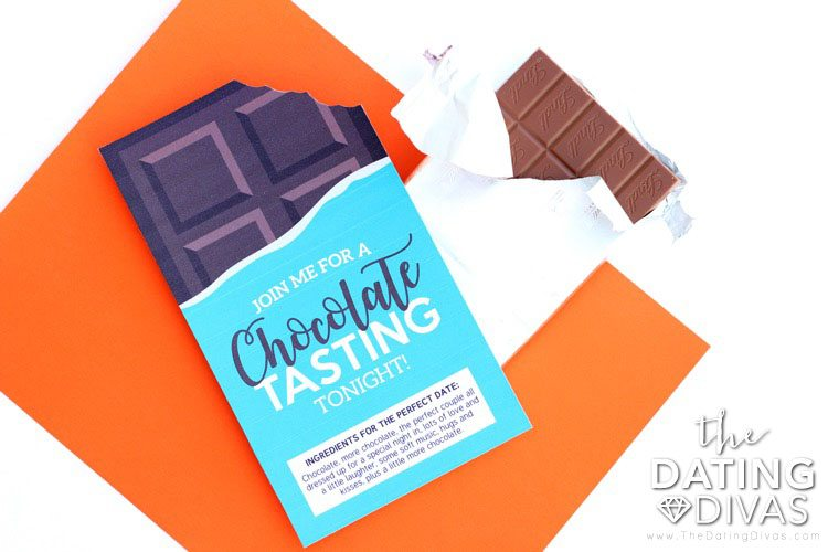Chocolate Tasting Invitation